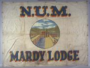Banner of the Mardy Lodge of the National Union...