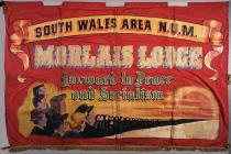 Banner of the Morlais Lodge of the National...