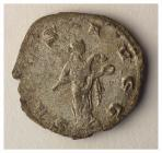 Roman coin from Caerleon (reverse) [image 2 of 2]