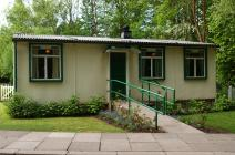 The Prefab at St Fagans displaying life in the 50s