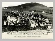 Ar achlysur pleser y Maer a'r Faeres  23.8.1922