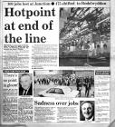 The End of the Line at Hotpoint, Llandudno 1992