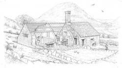 Nannerth-Ganol, Cwmteuddwr; cutaway...