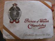 Photograph of Prince of Wales chocolate box