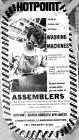 Vacancies for Assemblers at Hotpoint 1974
