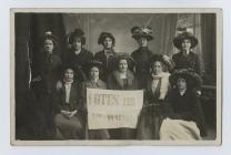 Suffragettes from Pembroke Dock
