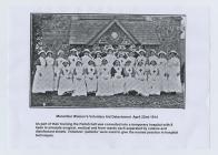 Manorbier Women's Voluntary Aid Detachment