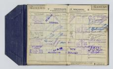 Board of Trade Discharge Book