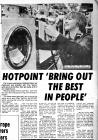 Hotpoint Factory Advertisements and publicity...
