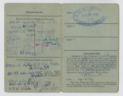 British Seaman's Identity Card