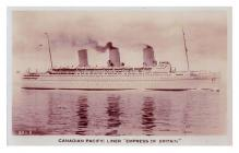 Canadian Pacific Liner, 'The Empress of...