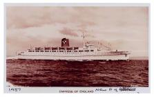 'Empress of England' cruise liner