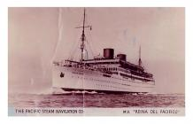 The Pacific Steam Navigation Co. Liner