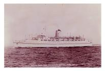 Canadian Pacific Liner, 'Empress of...