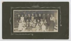 Girls at St Martins School, Haverfordwest, 1915