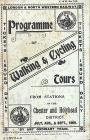 Programme of Walking and Cycling Tours, 1909 ...
