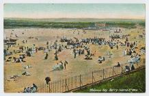 Postcard of Whitmore Bay, Barry Island, c.1900