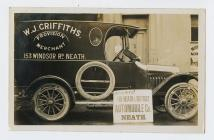 Delivery van of W.J. Griffiths Provision Merchants