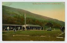 Bowling green at Victoria Wells, Llanwrtyd Wells