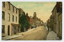 Postcard of Main Street in Pembroke
