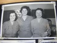 United Dairies workers, Whitland Creamery, 1952