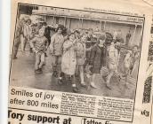 Newspaper cuttings, Ty Celyn Youth Club, Cardiff