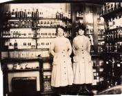 Vera Hughes, pharmacy at Swansea Hospital