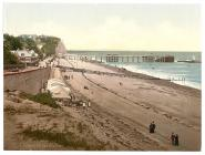 [Beach and pier, Penarth, Wales] (LOC)