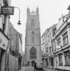 St John the Baptist church, 1967