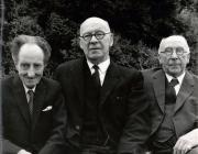 Saunders Lewis, D.J. Williams and Lewis Valentine