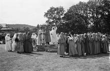 Proclaiming the 1941 National Eisteddfod, at...