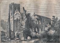 Llandaff Cathedral 1834
