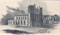Llandaff Cathedral 1845