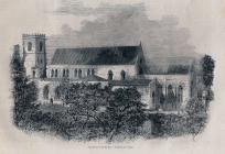 Llandaff Cathedral 1857
