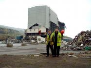 More demolition at the steelworks site