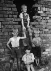 Children of Moss Valley, near Wrexham