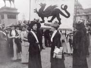 Women's Suffrage Pilgrimage Cardiff 1913