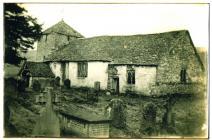 Heyope Church and churchyard