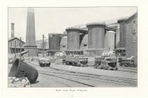 Ebbw Vale blast furnaces, 1906