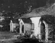 A row of labourers' cottages at Lancych.