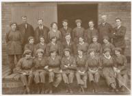 Photo showing women working in Sandycroft...