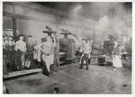 Sheet Rolling, Shotton Steelworks. 1910