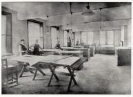 Drawing Office, Shotton Steelworks. 1910
