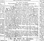 Auction Notice, The Cambrian 9 March 1849