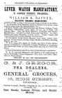 Fancy Trade, Clocks, Spectacles and Tea 1856