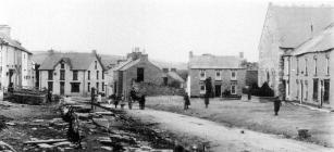 Cilgerran High Street, taken in 1910