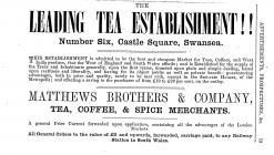 The Leading Tea Establishment!! at 6 Castle Square