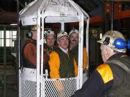 9. Testing the kibble at Big Pit