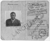 Paul Robeson's passport