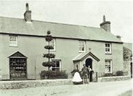 Siop Uchaf, Llanfairpwllgwyngyll, c1900